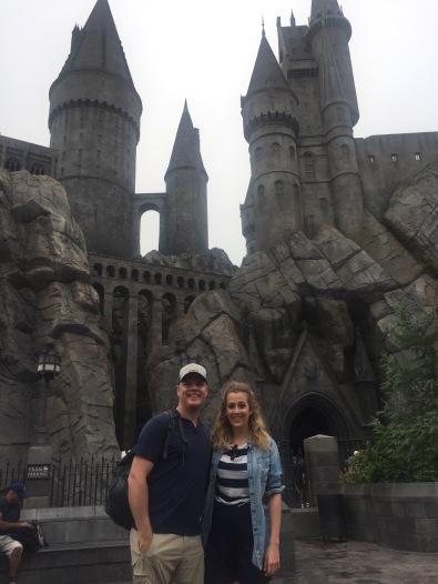 Visiting Hogwarts at Universal Studios Hollywood