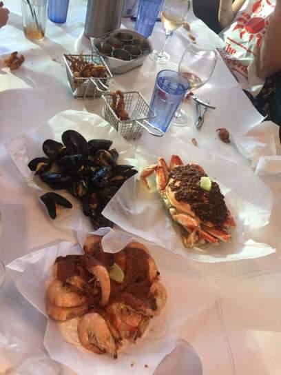The food at Holy Crab