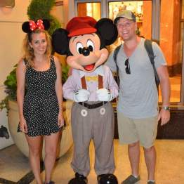 Meeting Mickey Mouse